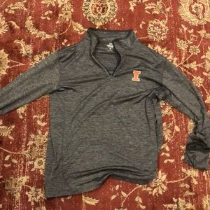 Illinois Fighting Illini Quarter Zip